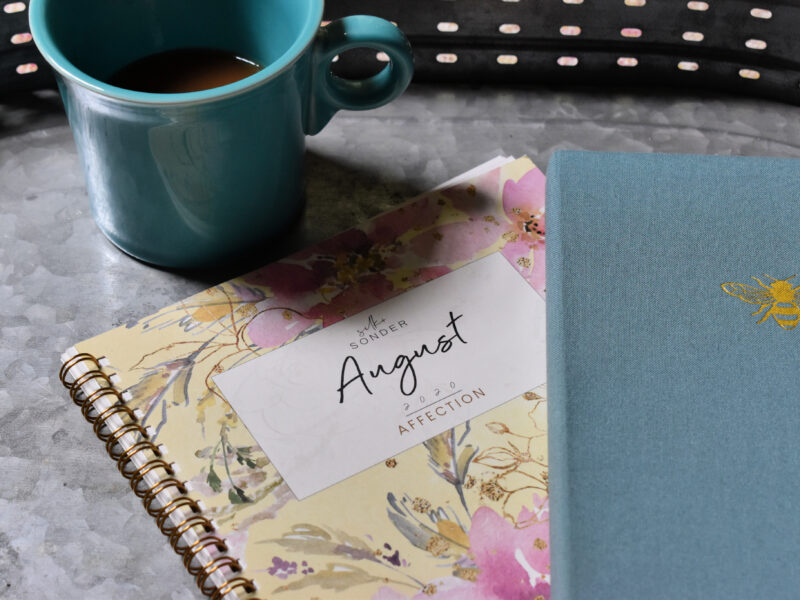 Plan with me August 2020: thriving in a new normal